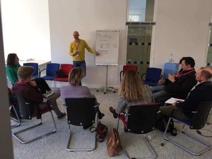 Heute beim Businesscamp in Bonn, Gründer zum