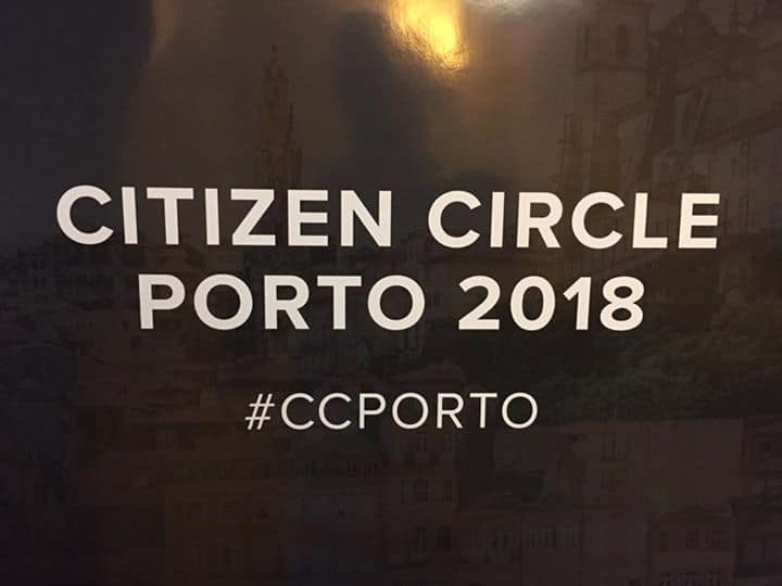 #CCPorto Citizen Circle Konferenz in Porto, toller