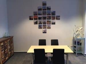 neues Wandgemälde für unser Büro